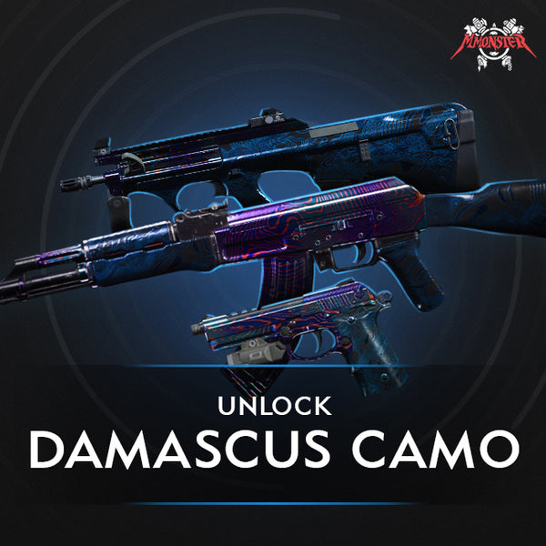 Cod Mw Damascus Camo Unlock Boost Mmonster