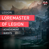Loremaster of Legion - MMonster