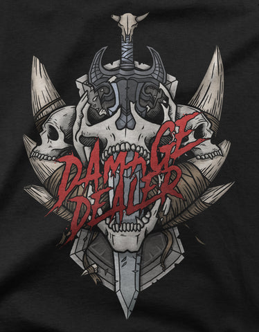 "GIXWEAR Women's T-Shirt ""Damage Dealer"" - MMonster"