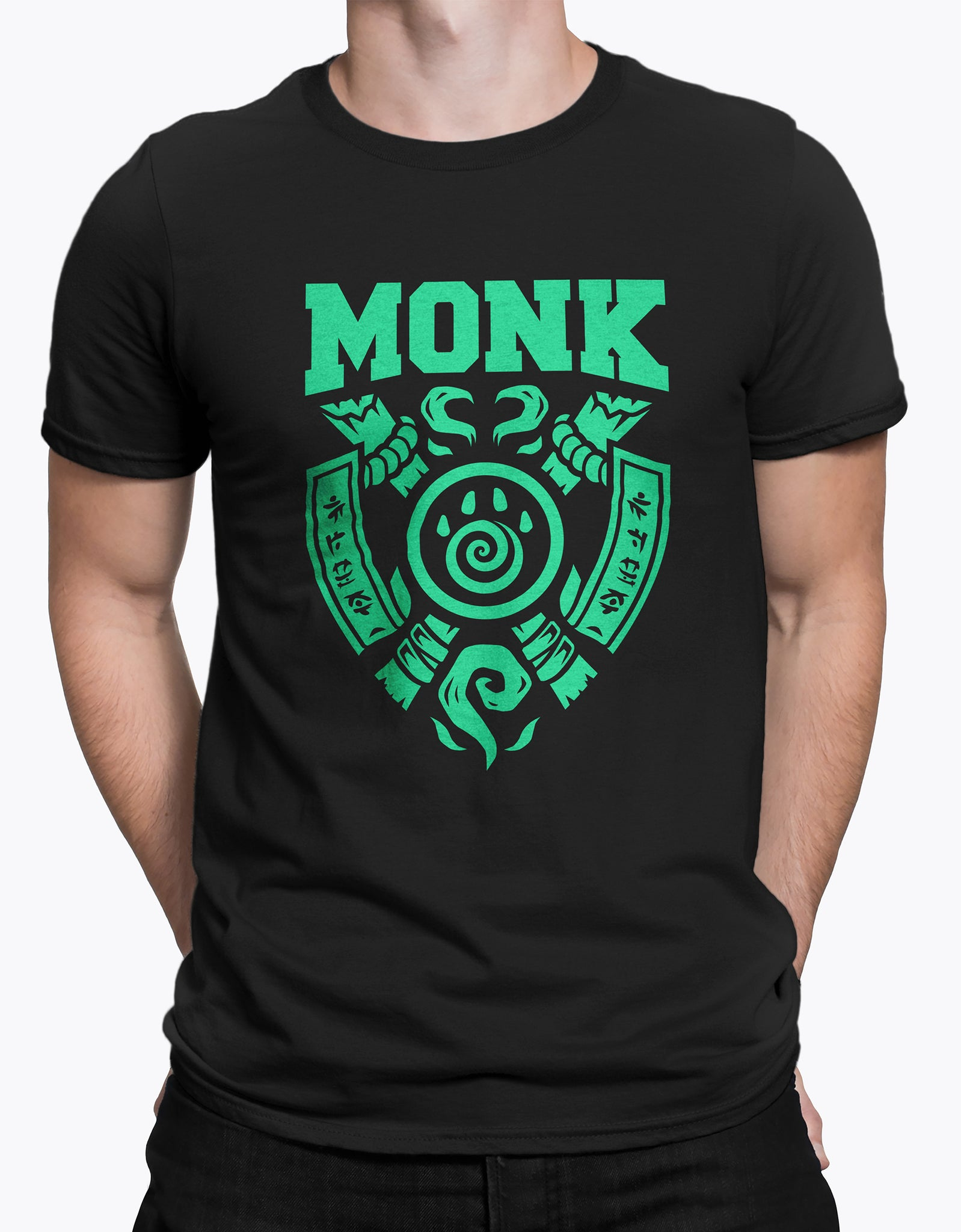 "GIXWEAR Men's T-Shirt ""Monk"" - MMonster"