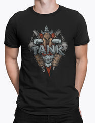 "GIXWEAR Men's T-Shirt ""Tank"" - MMonster"
