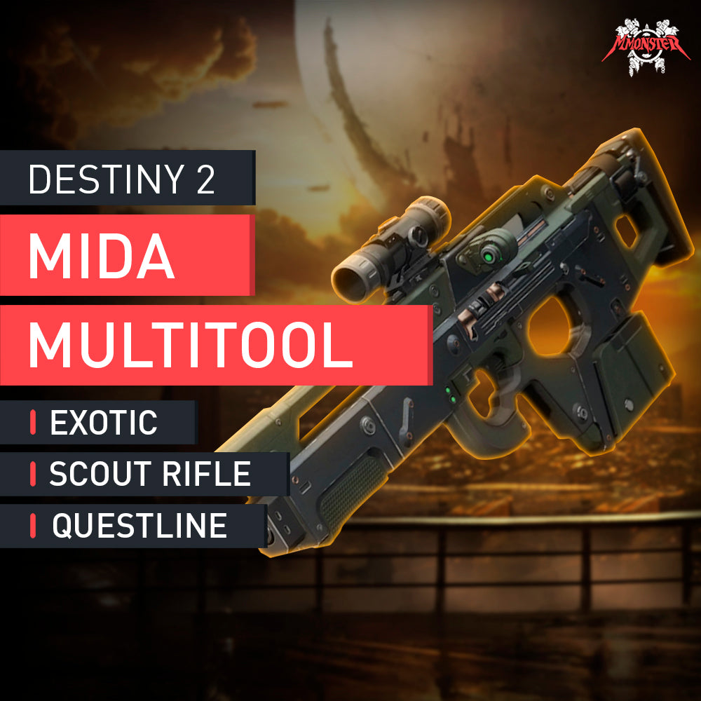 Mida Exotic Quest (Exotic Scout Rifle) - MMonster