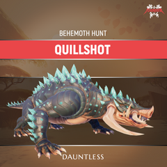 Dauntless Quillshot Behemoth Kill