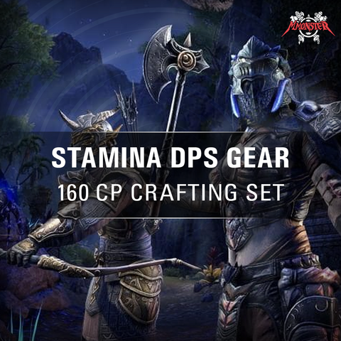 ESO Stamina DPS Gear Crafting Set Build Meele - MmonsteR