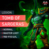 Tomb of Sargeras Normal Master Loot Run - MMonster