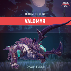 Dauntless Valomyr Behemoth Kill