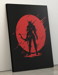"GIXWEAR Canvas Print 60x80cm ""Warchief"" - MMonster"