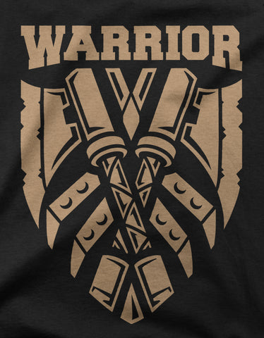 "GIXWEAR Men's T-Shirt ""Warrior"" - MMonster"