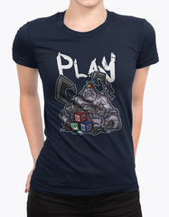 "GIXWEAR Women's T-Shirt ""Patchwerk"" - MMonster"