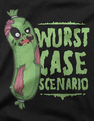 "GIXWEAR Men's T-Shirt ""Wurst Case Scenario"" - MMonster"