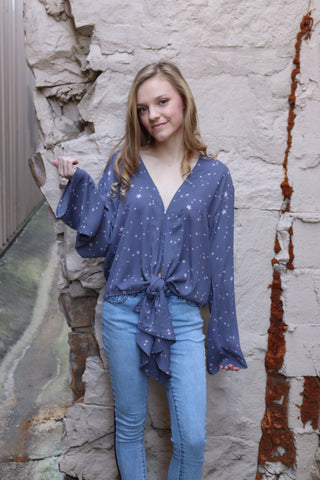 Gayle Galaxy Blouse
