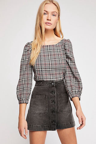 Free People Rocky Mountain Skirt