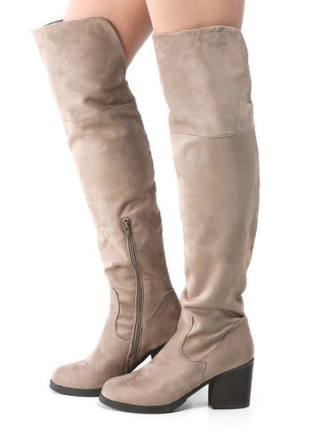 Victoria Taupe Boots