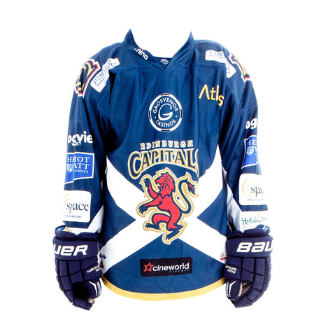 A Legacy Edinburgh Capitals Home Jersey - 2015/16