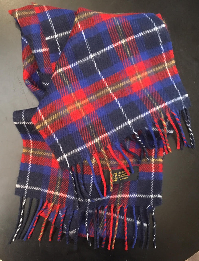 Unique Edinburgh Capitals Tartan Scarf