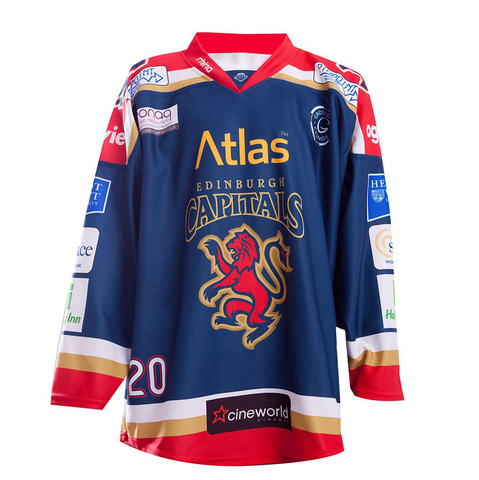 2016/17 Edinburgh Capitals Home Jersey