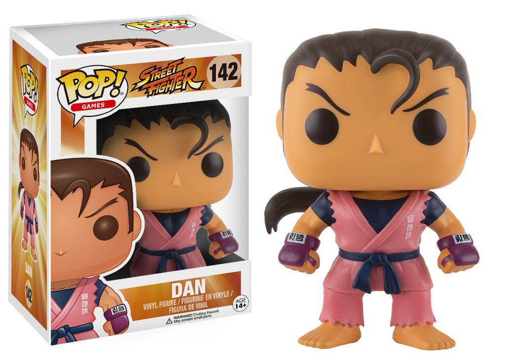 Street Fighter Pop! Dan - ToyKraze