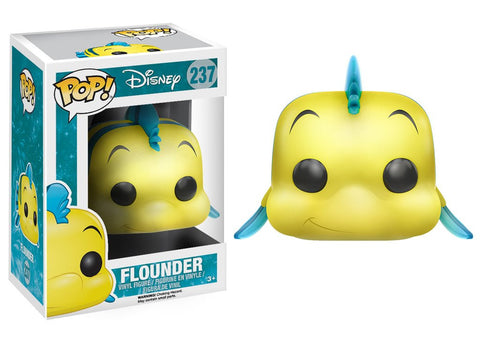 Funko Pop Disney Little Mermaid: Flounder (Pre-Order) - ToyKraze