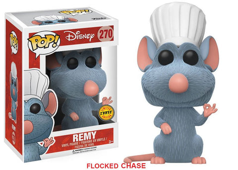 Disney Ratatouille: Remy Flocked Chase Variant