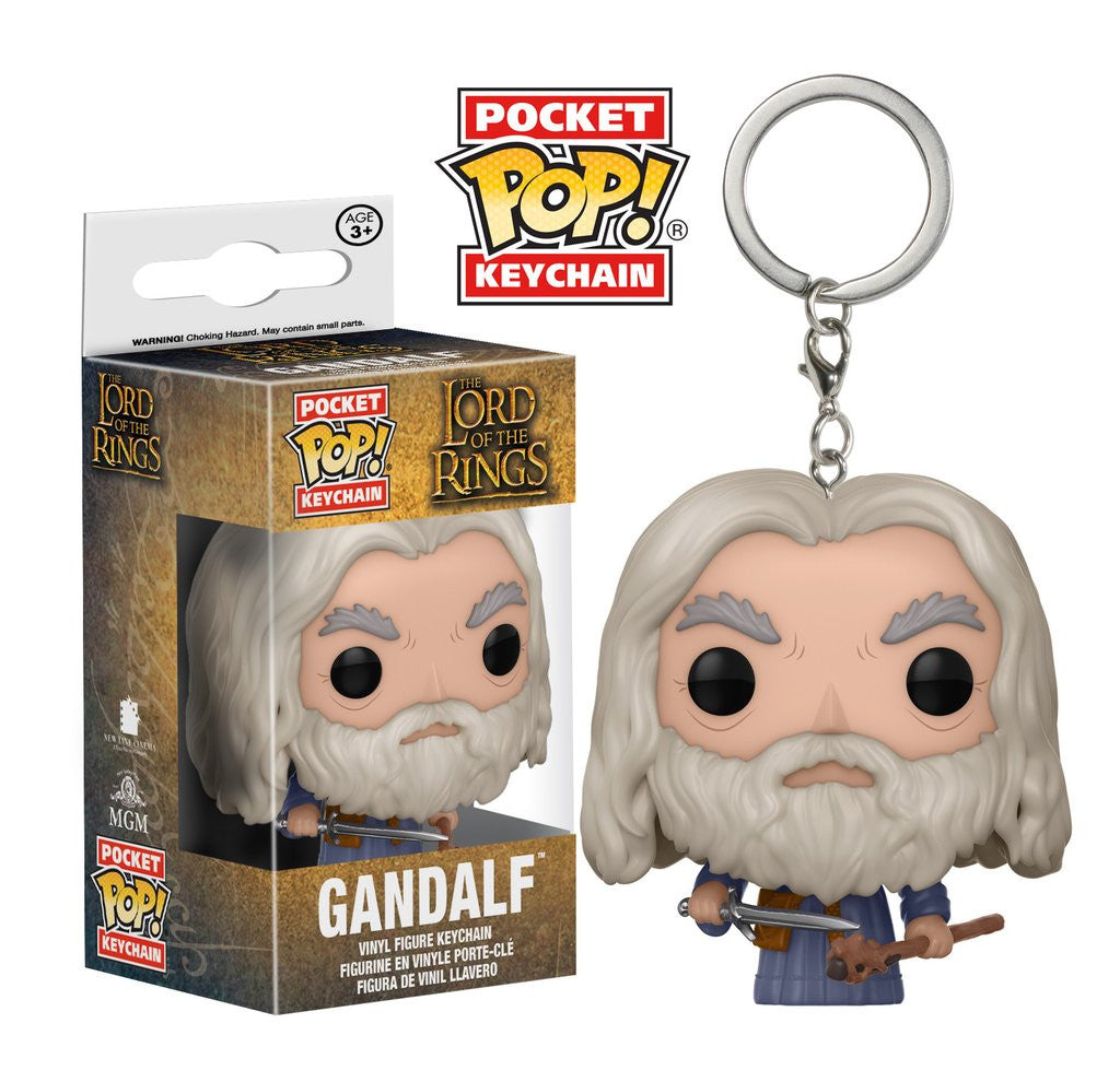 Lord of the Rings Pop Keychain - Gandalf