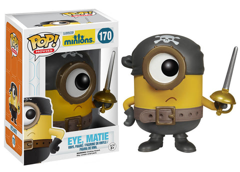 Funko Pop Movies! Minions - Eye, Matie - ToyKraze