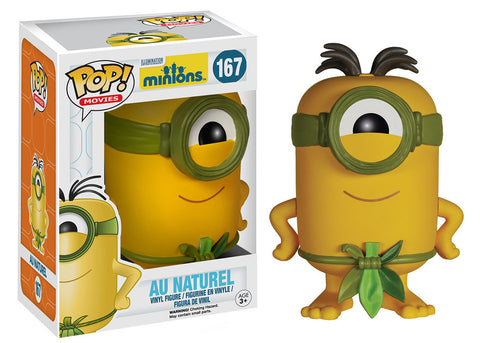 Funko Pop Movies! Minions - Au Naturel - ToyKraze