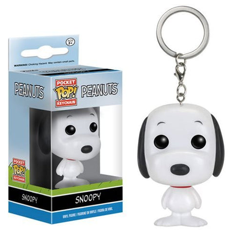 Peanuts Pocket Pop Keychain - Snoopy - ToyKraze