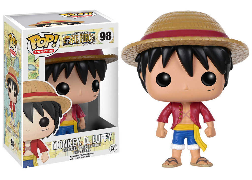 One Piece: Monkey D. Luffy Vinyl Pop Figure - ToyKraze