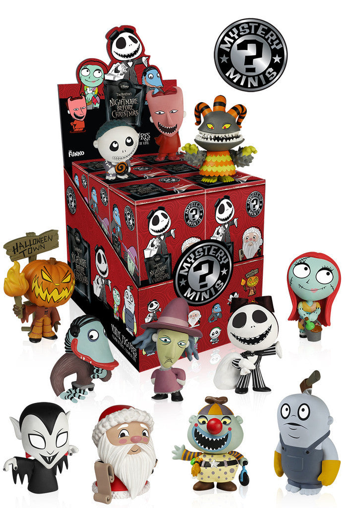 Funko Mystery Mini - Nightmare before Christmas Series 2 Display Case - ToyKraze