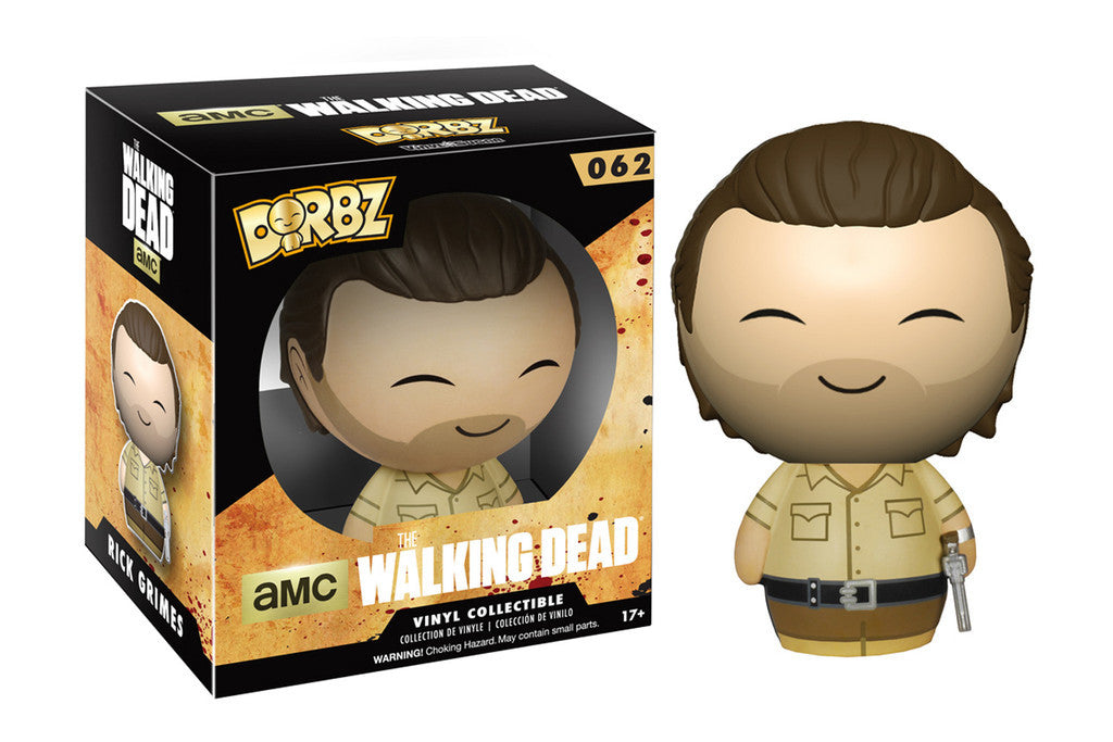 Dorbz: The Walking Dead - Rick Grimes - ToyKraze