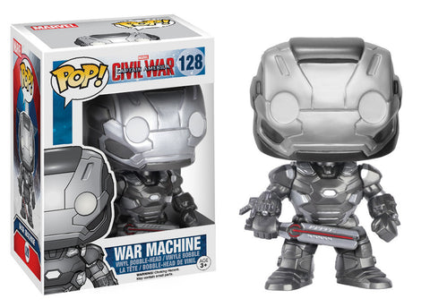 Captain America Civil War Pop! War Machine - ToyKraze