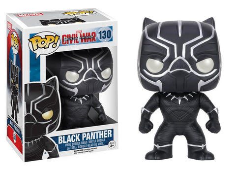 Captain America Civil War Pop! Black Panther - ToyKraze