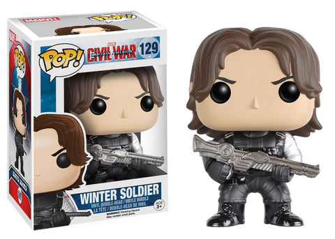 Captain America Civil War Pop! Winter Soldier - ToyKraze