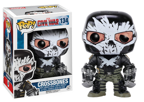Captain America Civil War Pop! Crossbones (Vaulted) - ToyKraze