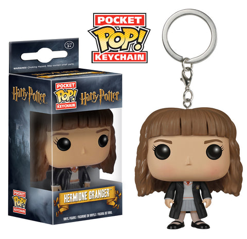 Harry Potter Pocket Pop Keychain - Hermione - ToyKraze