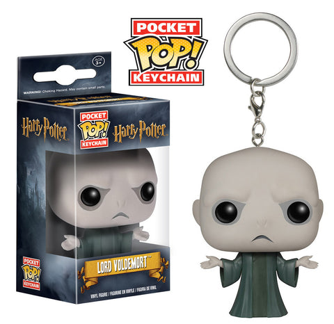 Harry Potter Pocket Pop Keychain - Voldemort - ToyKraze