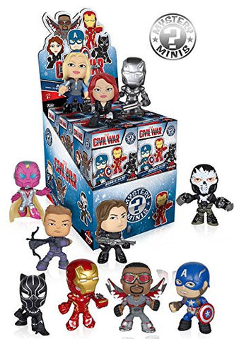 Captain America: Civil War Mystery Mini Case - ToyKraze