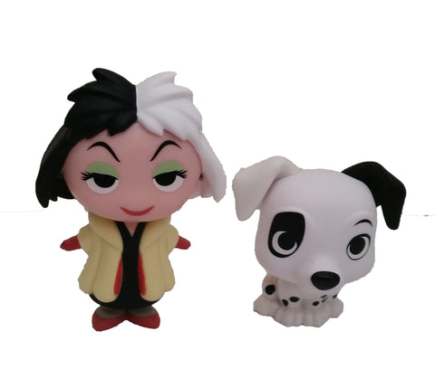 Disney Villains - Cruella and Patch - ToyKraze