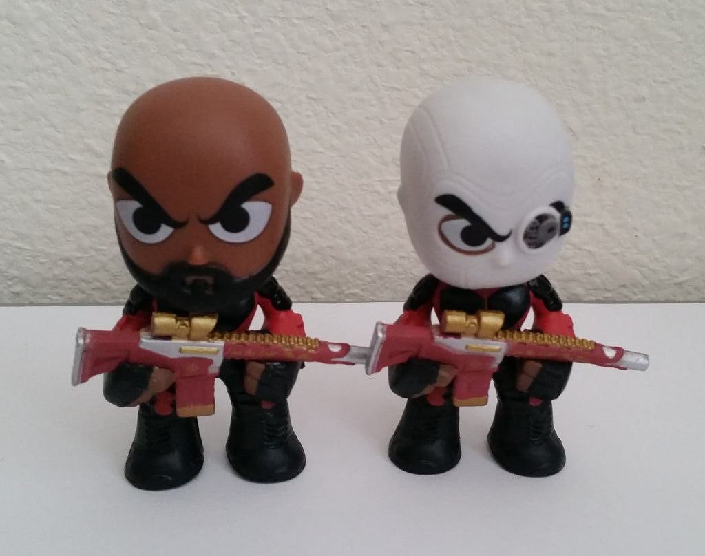 Suicide Squad Mystery Mini - Deadshot & Unmasked Deadshot Set (Loose) - ToyKraze