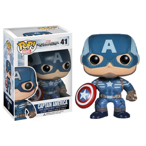 Funko POP! Marvel: Captain America - ToyKraze