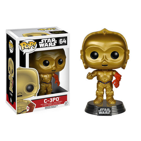Funko Pop! Star Wars Ep 7 Force Awakens - C-3PO - ToyKraze