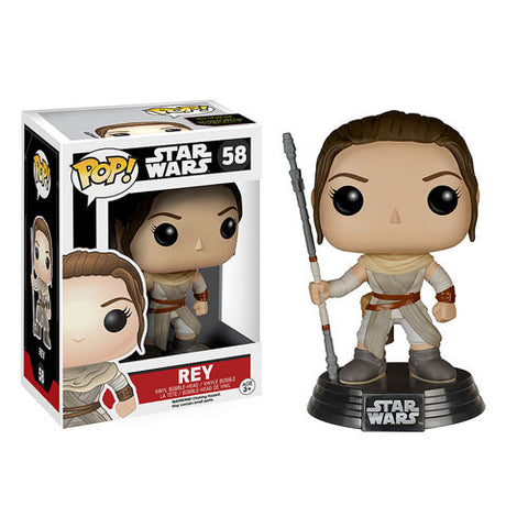 Funko Pop! Star Wars Ep 7 Force Awakens - Rey - ToyKraze