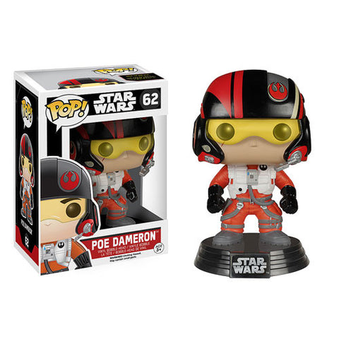 Funko Pop! Star Wars Ep 7 Force Awakens - Poe Dameron - ToyKraze