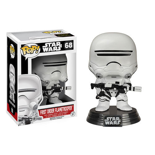 Funko Pop! Star Wars Ep 7 Force Awakens - First Order Flametrooper (Vaulted) - ToyKraze