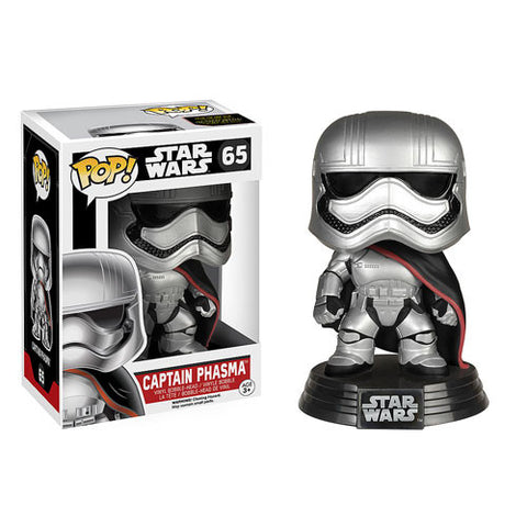 Funko Pop! Star Wars Ep 7 Force Awakens - Captain Phasma (Vaulted) - ToyKraze