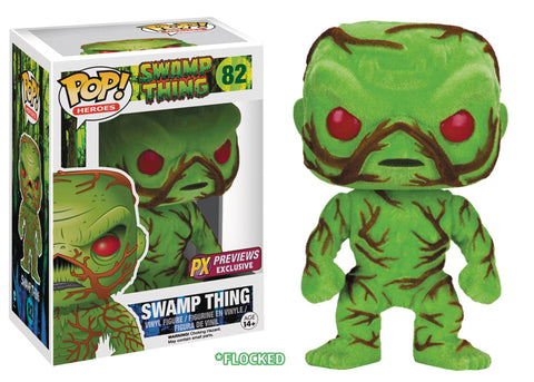 DC Heroes: Swamp Thing Flocked PX Vinyl Figure - ToyKraze