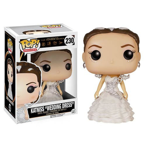 Funko Pop! Hunger Games - Wedding Day Katniss (Vaulted) - ToyKraze