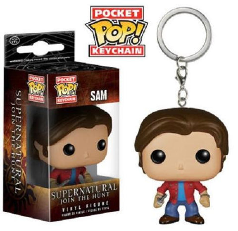 Funko Pocket Pop Keychain - Supernatural - Sam Winchester - ToyKraze