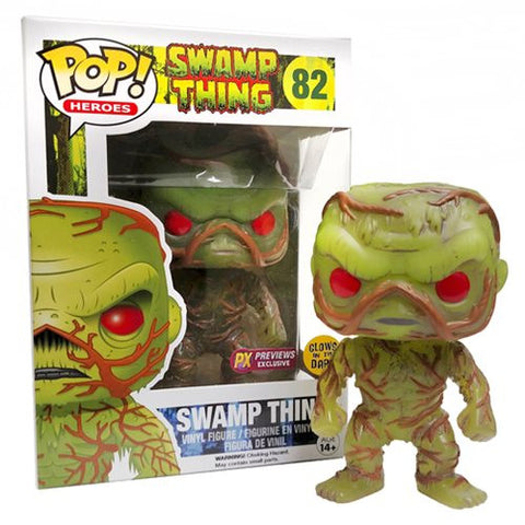 DC Heroes: Swamp Thing Glow in the Dark PX Vinyl Figure - ToyKraze
