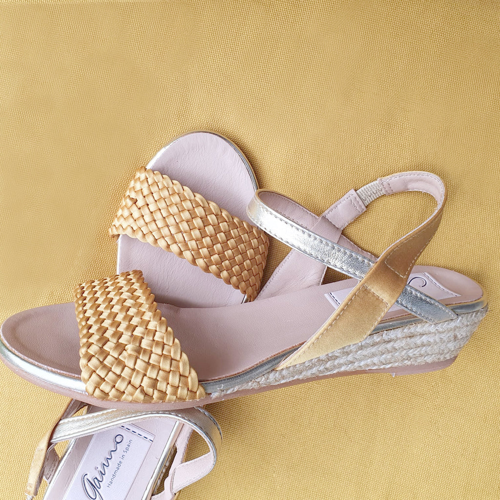 Tapas Collection | Elphy Ochre sandals